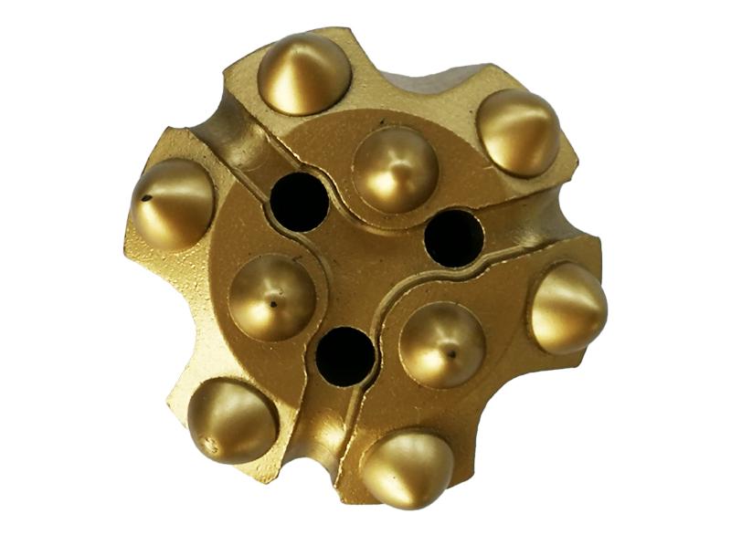 螺纹连接球齿钎头51mm-32R